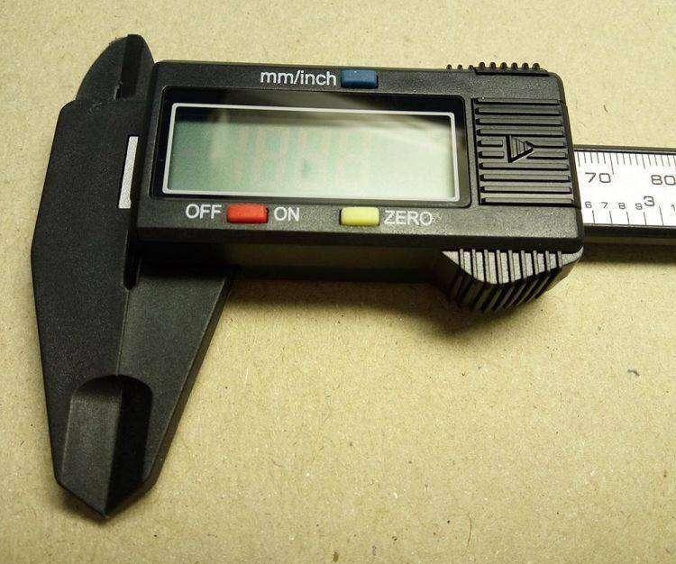 Banggood: Карбоновый цифровой штангенциркуль