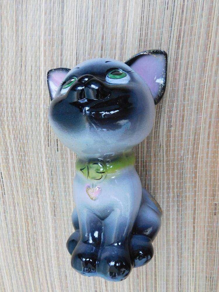 Другие: Керамический кот-копилка