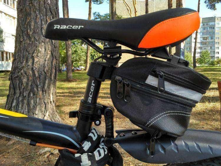 CNDirect: Велосумка с креплением под сиденьем