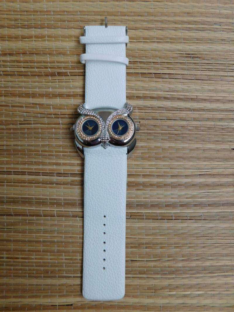 GearBest: Симпатичные женские часики - копия Chopard Owl Watch