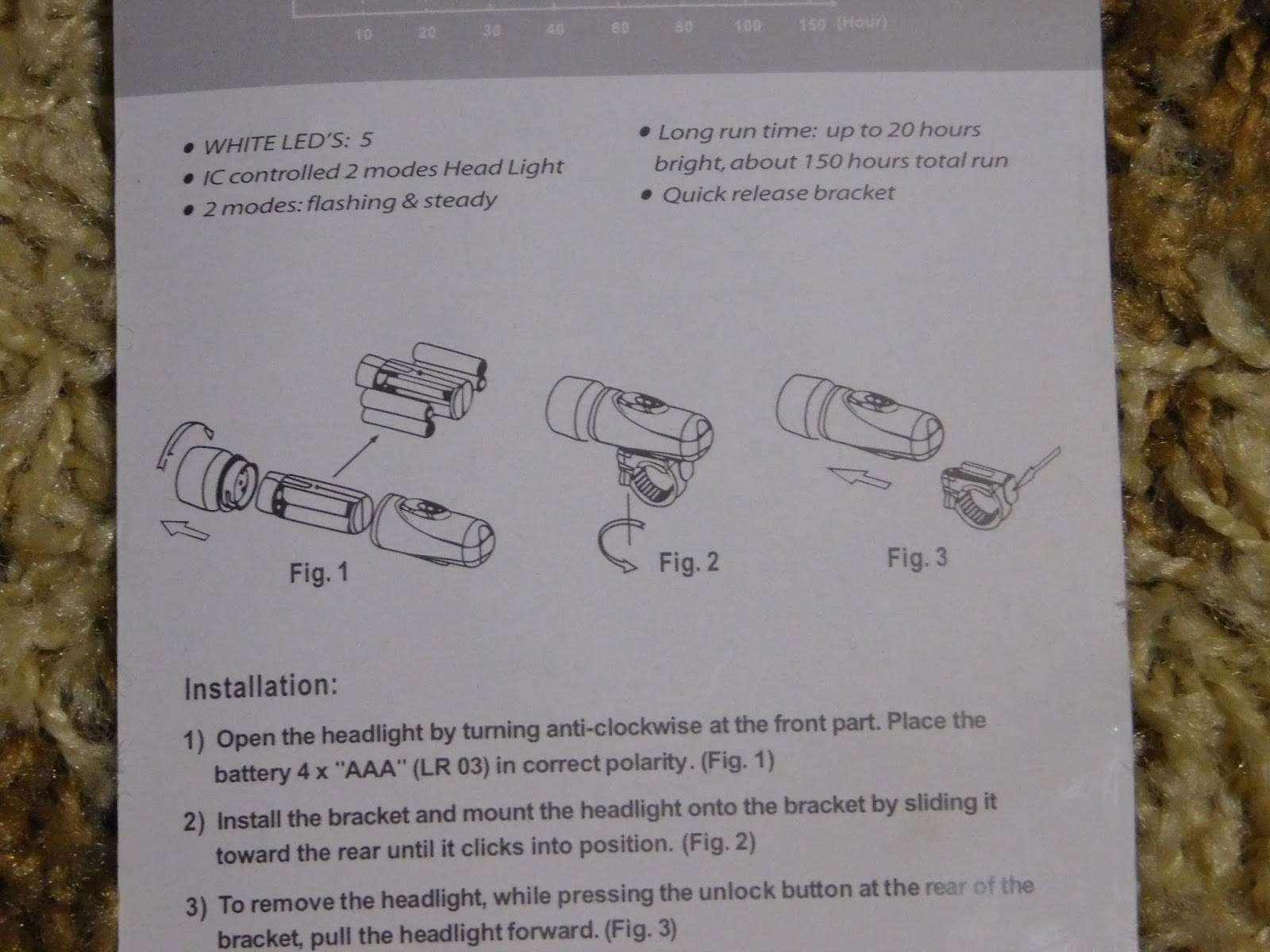 GearBest: Простенький вело фонарик