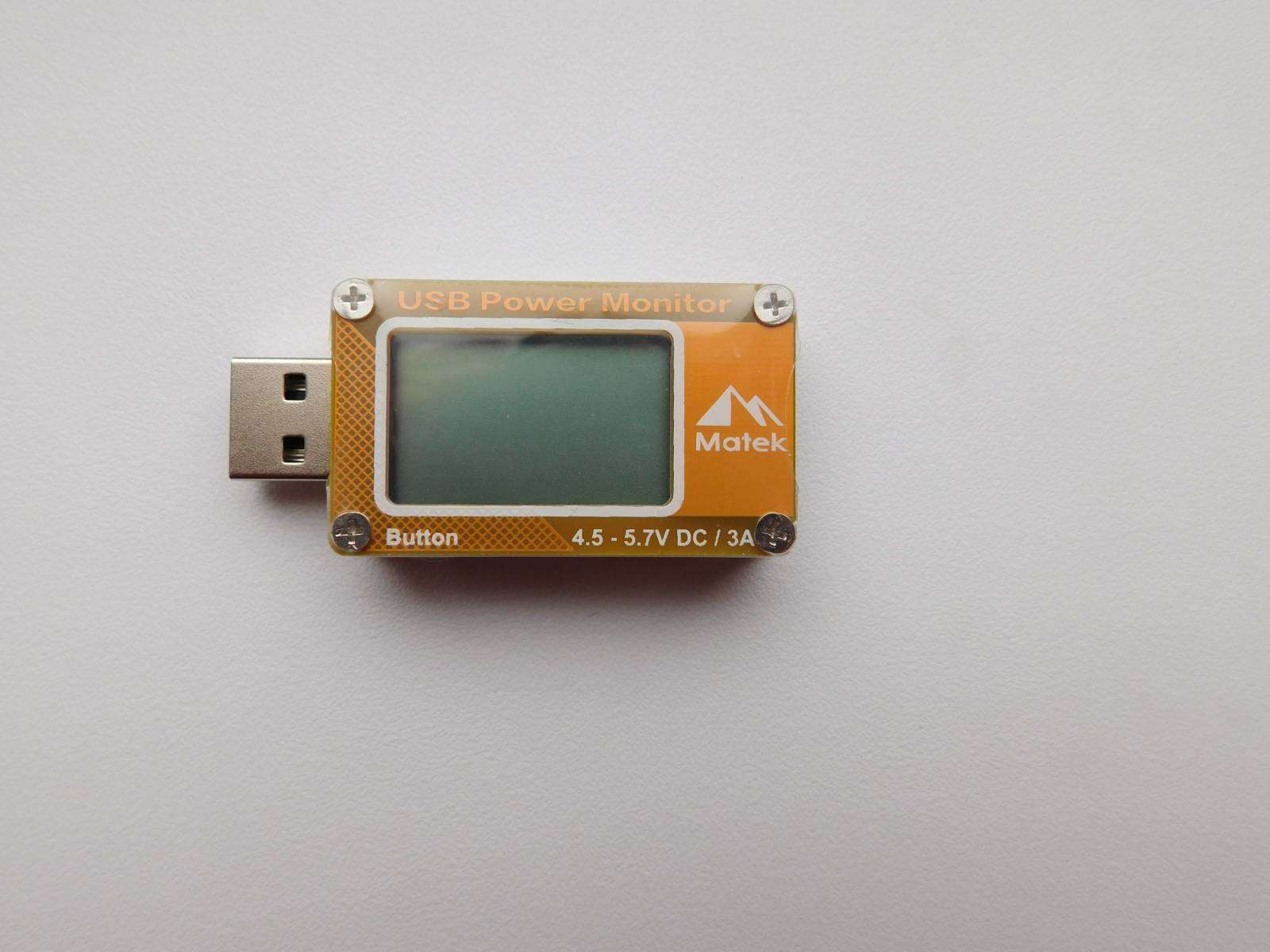 Aliexpress: Matek USB тестер