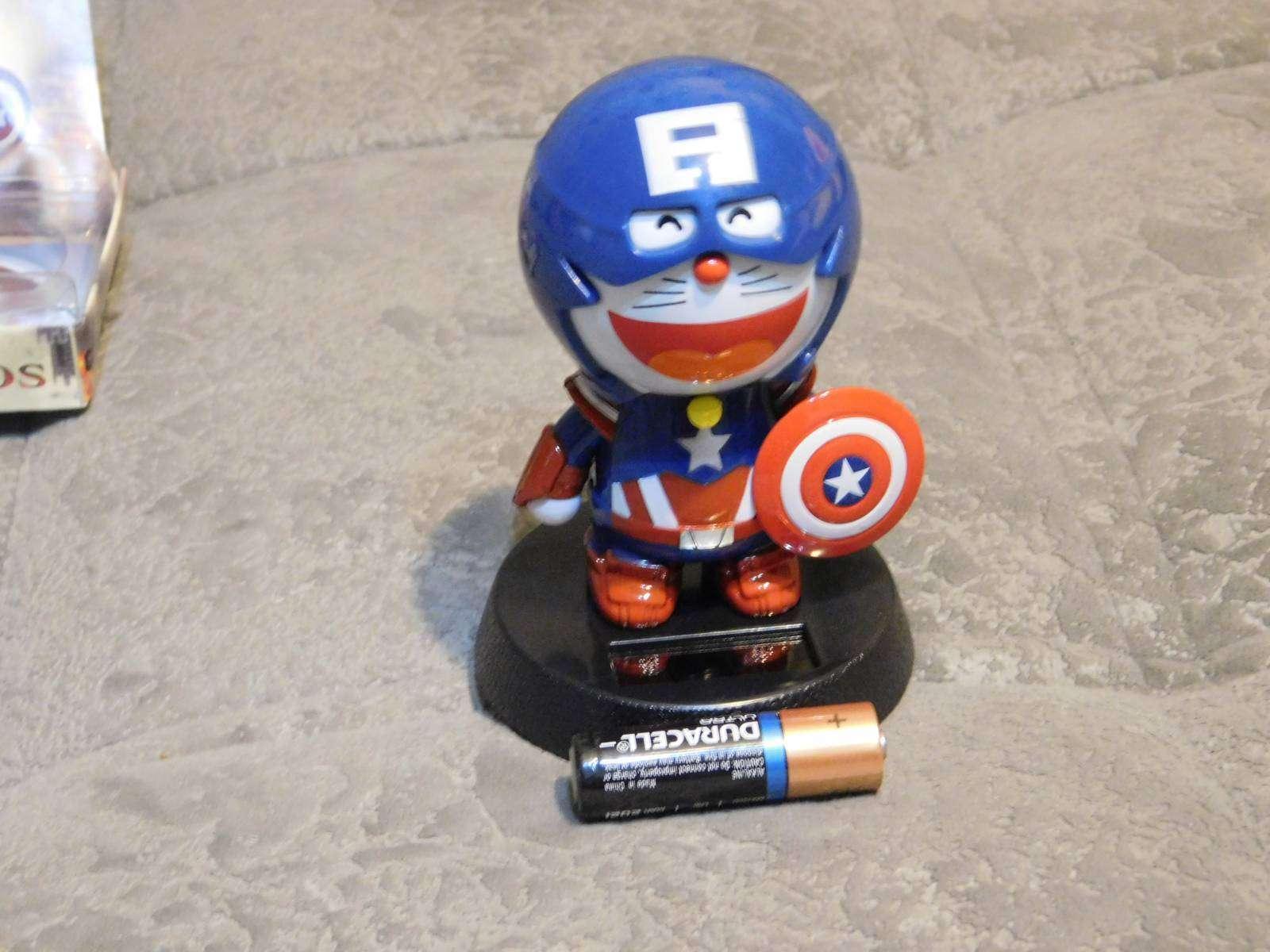 GearBest: Игрушка веселый кот 'Капитан Америка'