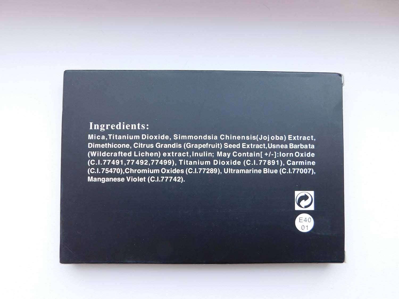 GearBest: Тени на 40 Colors