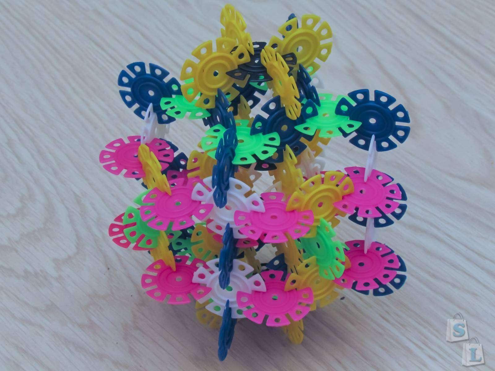 Детский конструктор - 2 набора по 400 деталей с Aliexpress