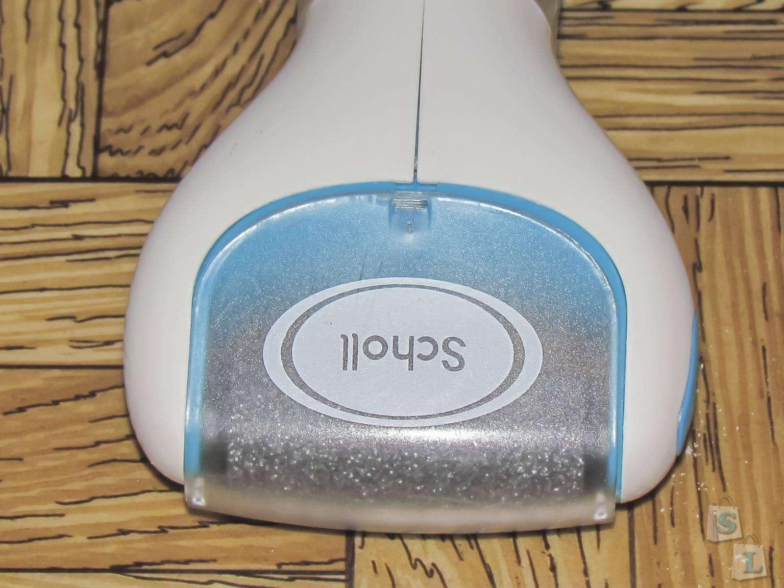 Aliexpress: Обзор электрической роликовой пилки SCHOLL Velvet smooth, с набором сменных валиков