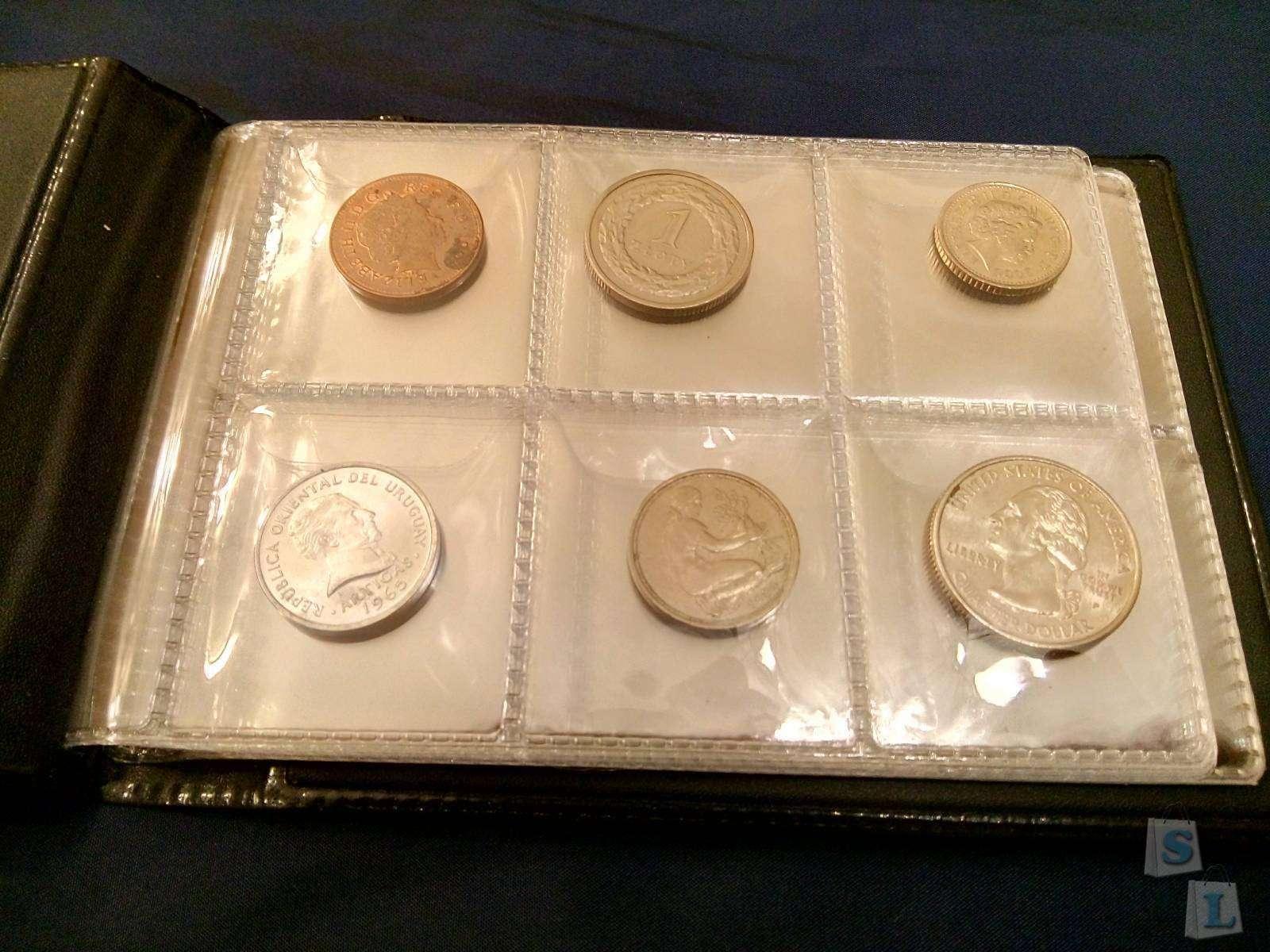 Aliexpress: Небольшой альбом для коллекционирования монет