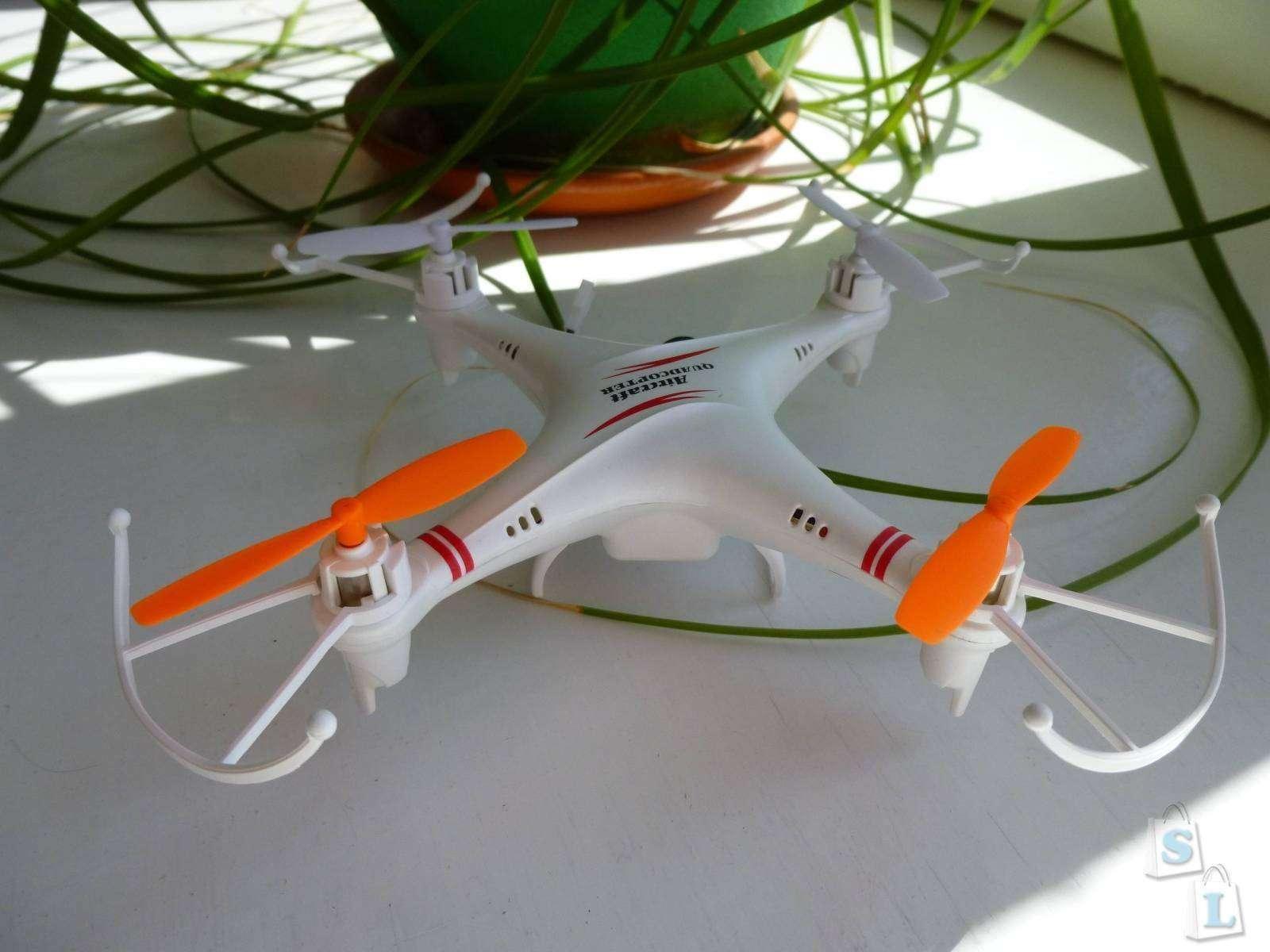 GearBest: Квадрокоптер 'для дома' на выбор: SYMA X12 И SKYTECH M62