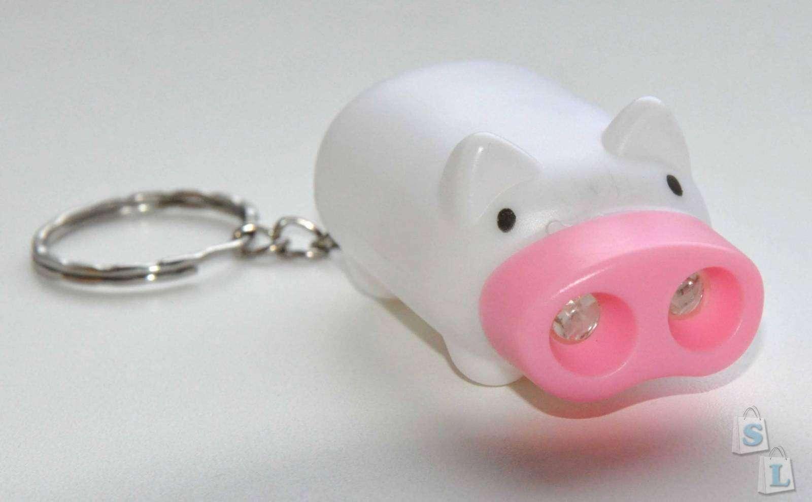 TinyDeal: Свинка фонарик