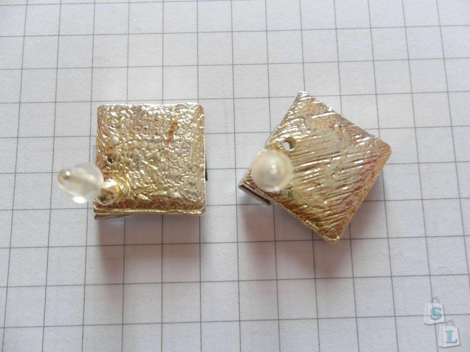 Lightinthebox: Серьги-гвоздики от Hualuo