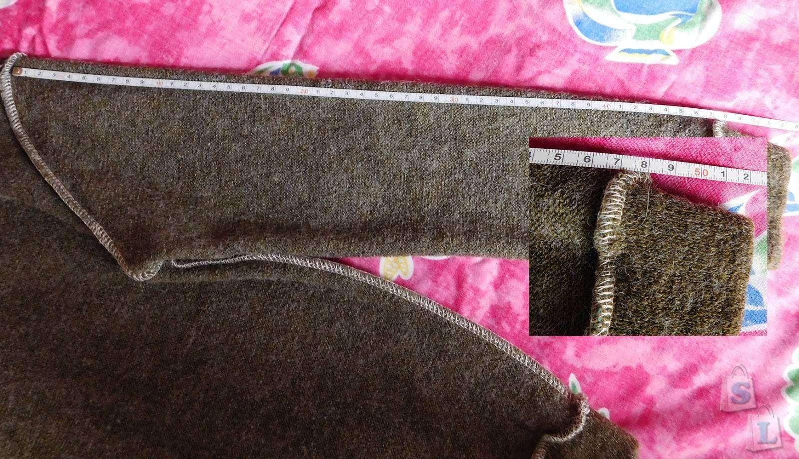 Banggood: Класcненькая кофточка с воротником-обманкой.