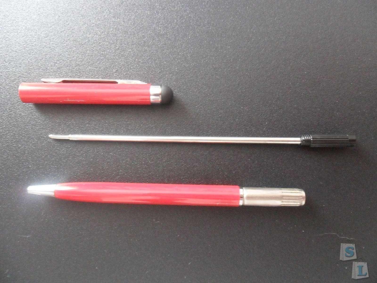 BuyinCoins: Шариковая ручка-стилус.