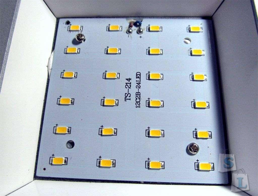 ChinaBuye: Неплохой 12 ваттный светодиодный светильник