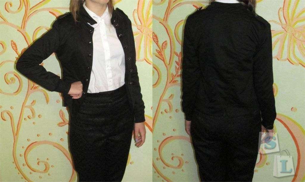 ChinaBuye: Черная женская кофта-жакет