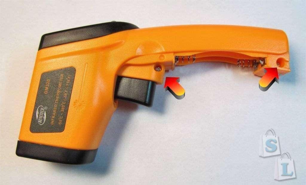 ChinaBuye: Инфракрасный бесконтактный термометр (пирометр) GM320