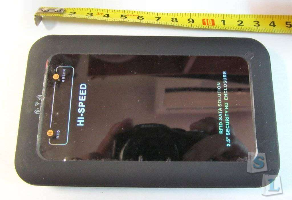 ChinaBuye: Бокс для HDD с AES шифрованием и RFID идентификацией