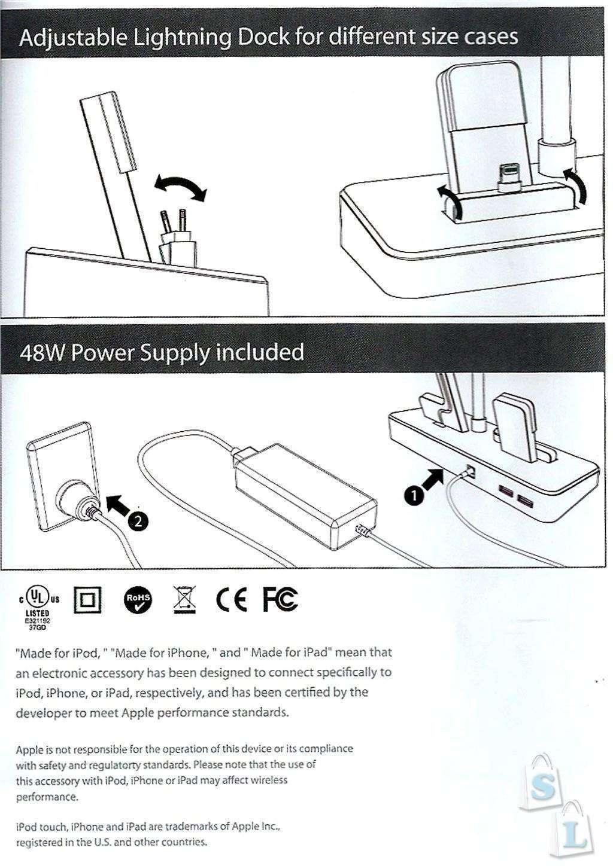 Banggood: Apple MFi сертифицированная зарядная станция Blitzwolf BW-MFH1 со светодиодной лампой