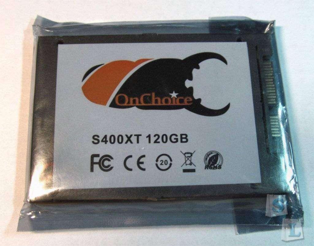 Banggood: 120GB SSD диск OnChoice определяющийся как Kingston SV300