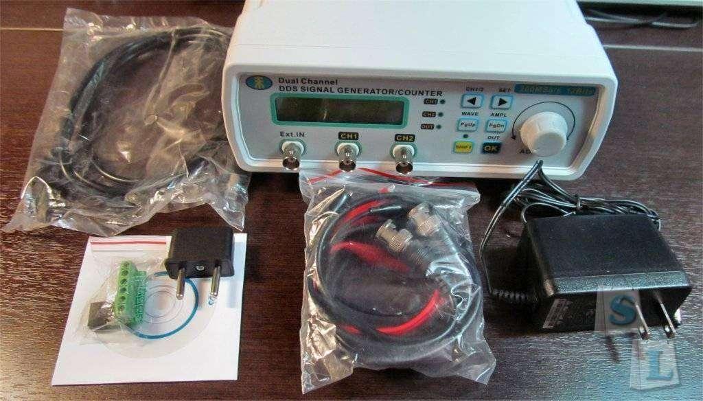 GearBest: 2-х канальный генератор сигналов произвольной формы MHS-5200A