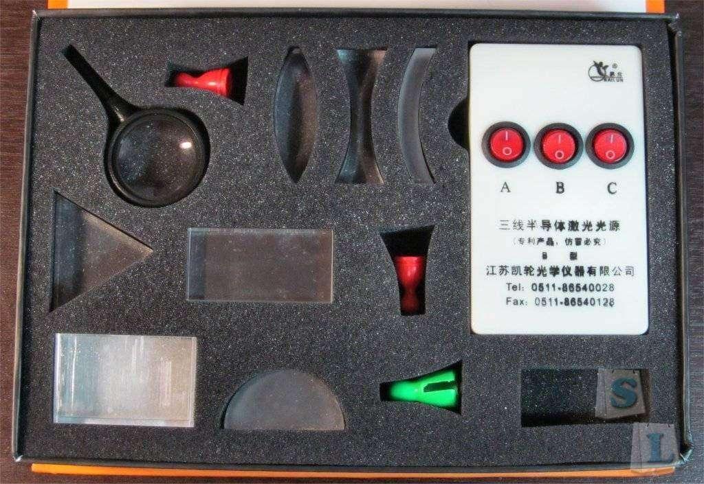 ChinaBuye: Демонстрационный набор по геометрической оптике