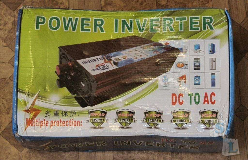 GearBest: 3 киловаттный инвертор с 12В в 220В