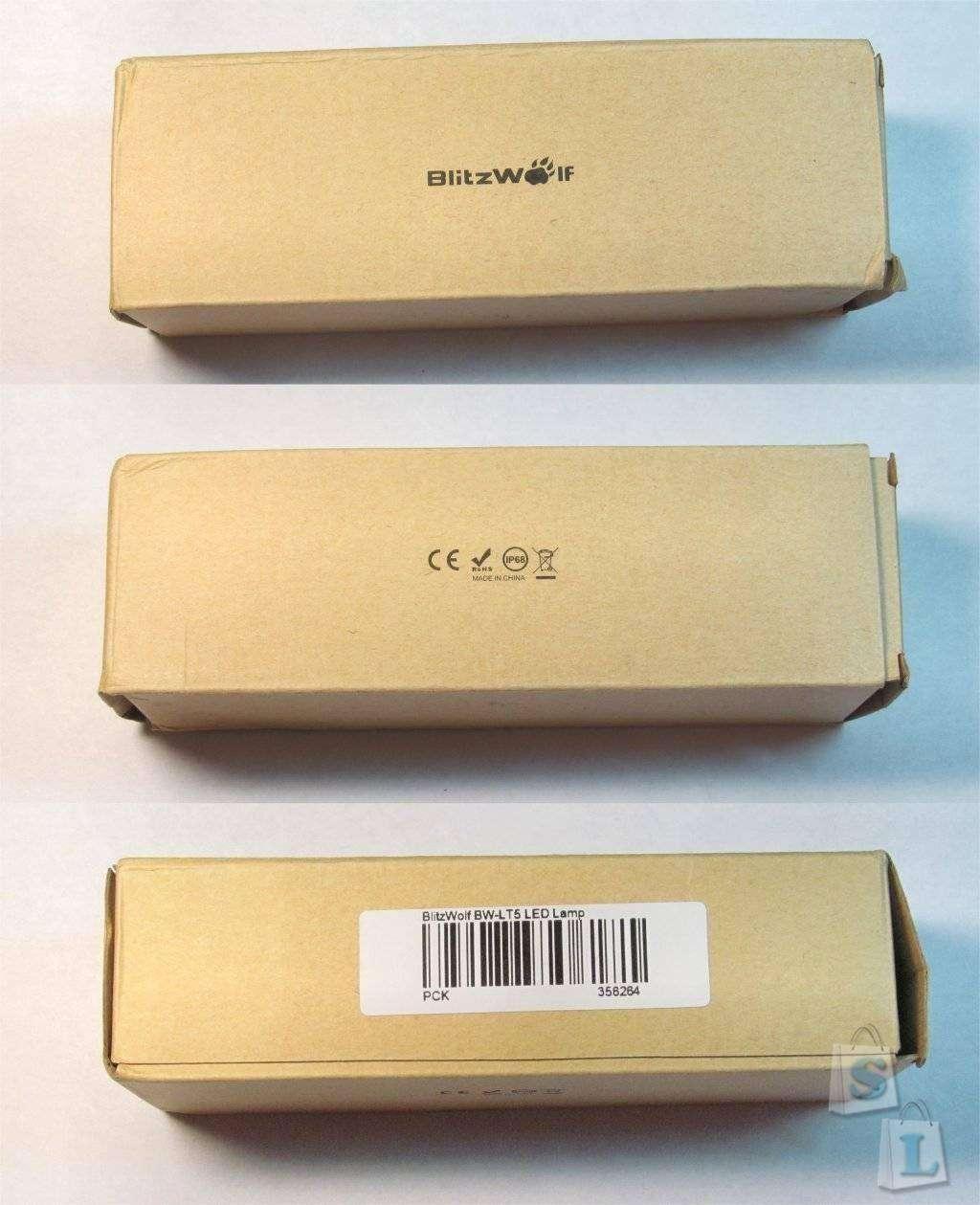 Banggood: Туристический водонепроницаемый светильник BlitzWolf® BW-LT5