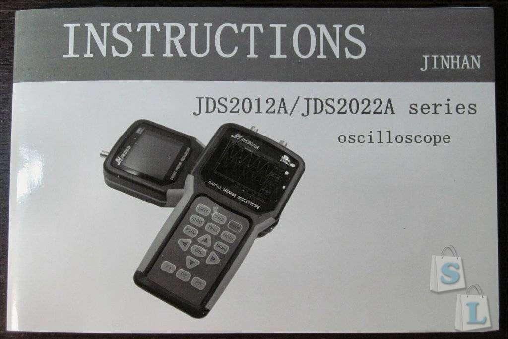 GearBest: JINHAN JDS2022A двухлучевой ручной осциллограф | колебания | фигуры Лиссажу | снятие ВАХ |