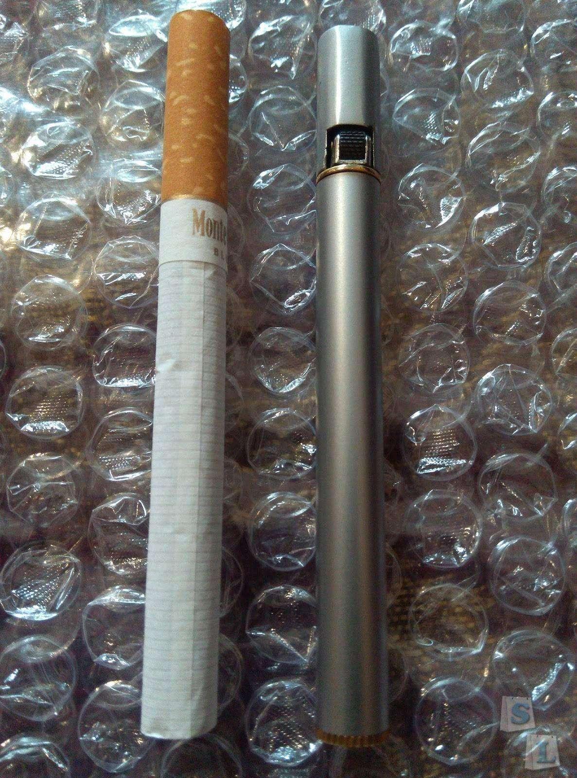 TinyDeal: Зажигалка в форме сигареты