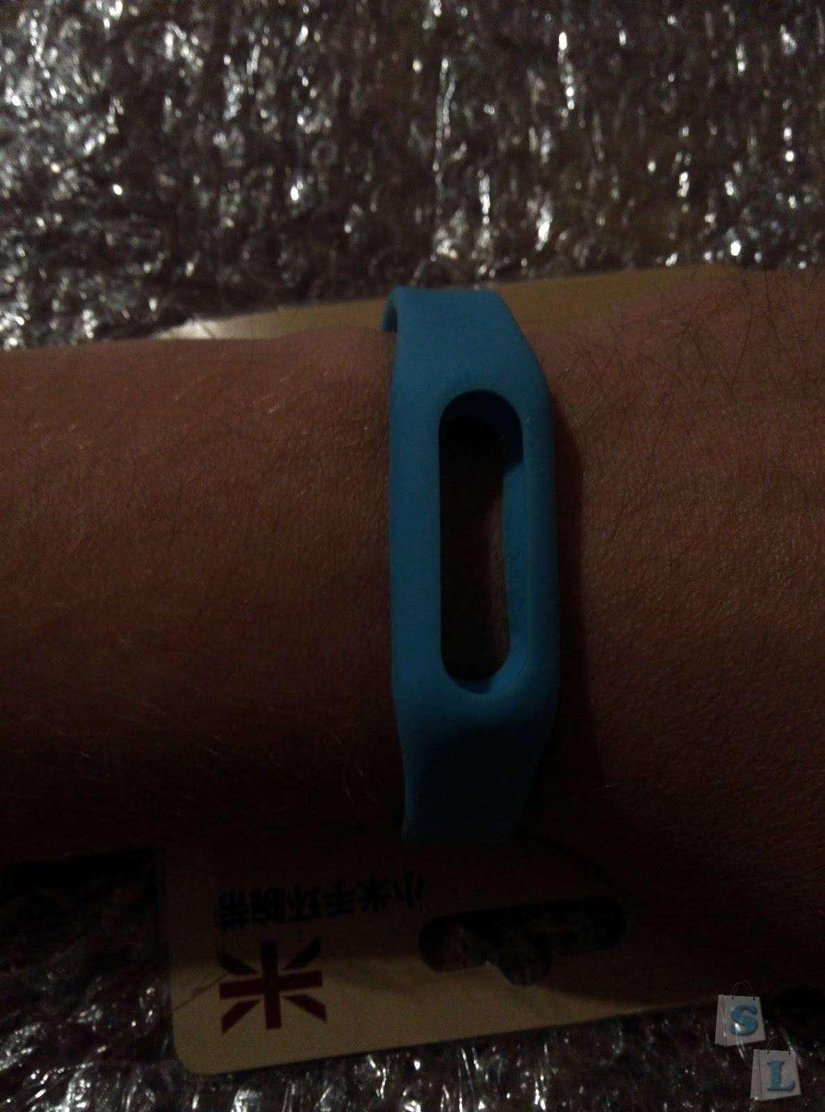 TinyDeal: Силиконовый браслет для Xiaomi Mi Band
