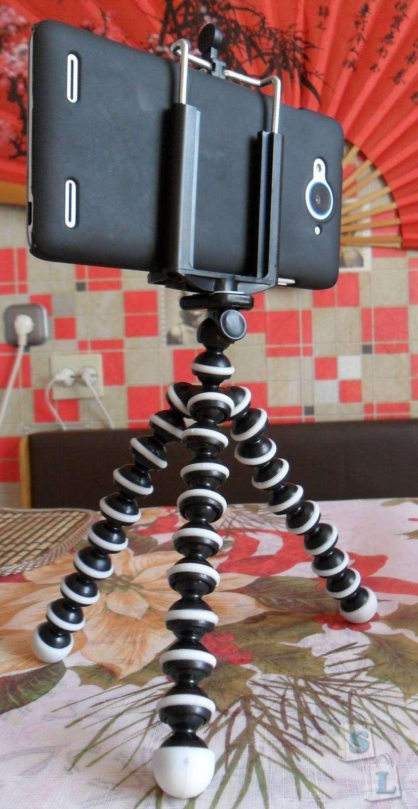 TinyDeal: Тренога для смартфона.