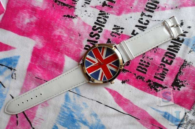 TinyDeal: Часы с британским флагом