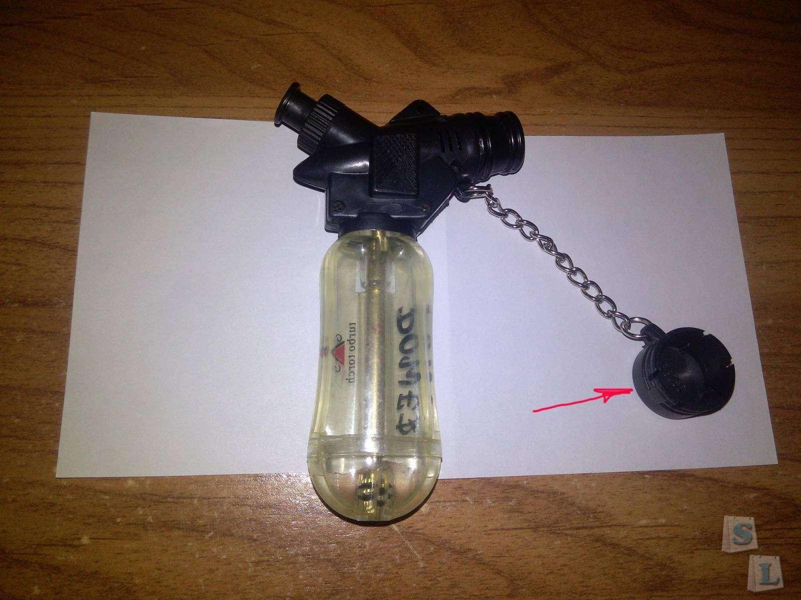 TinyDeal: Зажигалка - автоген.