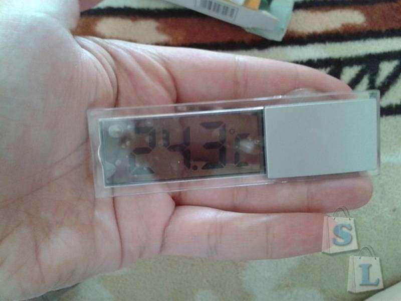 TinyDeal: Хороший термометр и никуда не годящаяся присоска