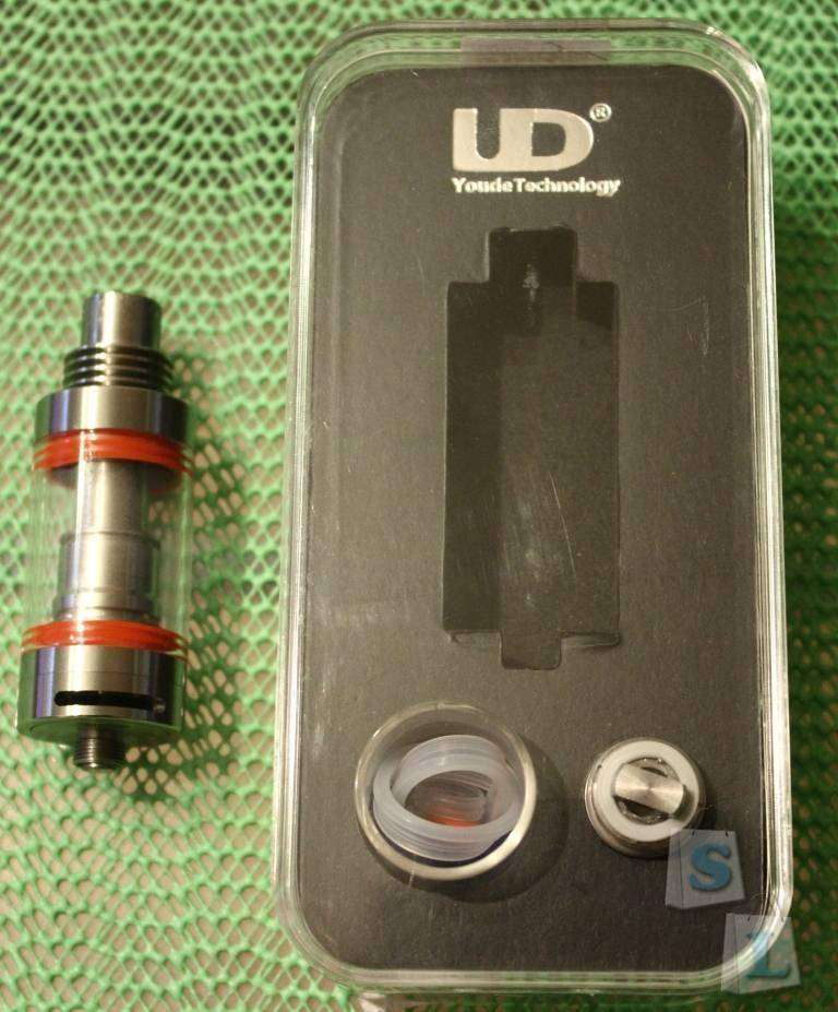 GearBest: Обзор обслуживаемого атомайзера Youde Zephyrus (электронные сигареты)