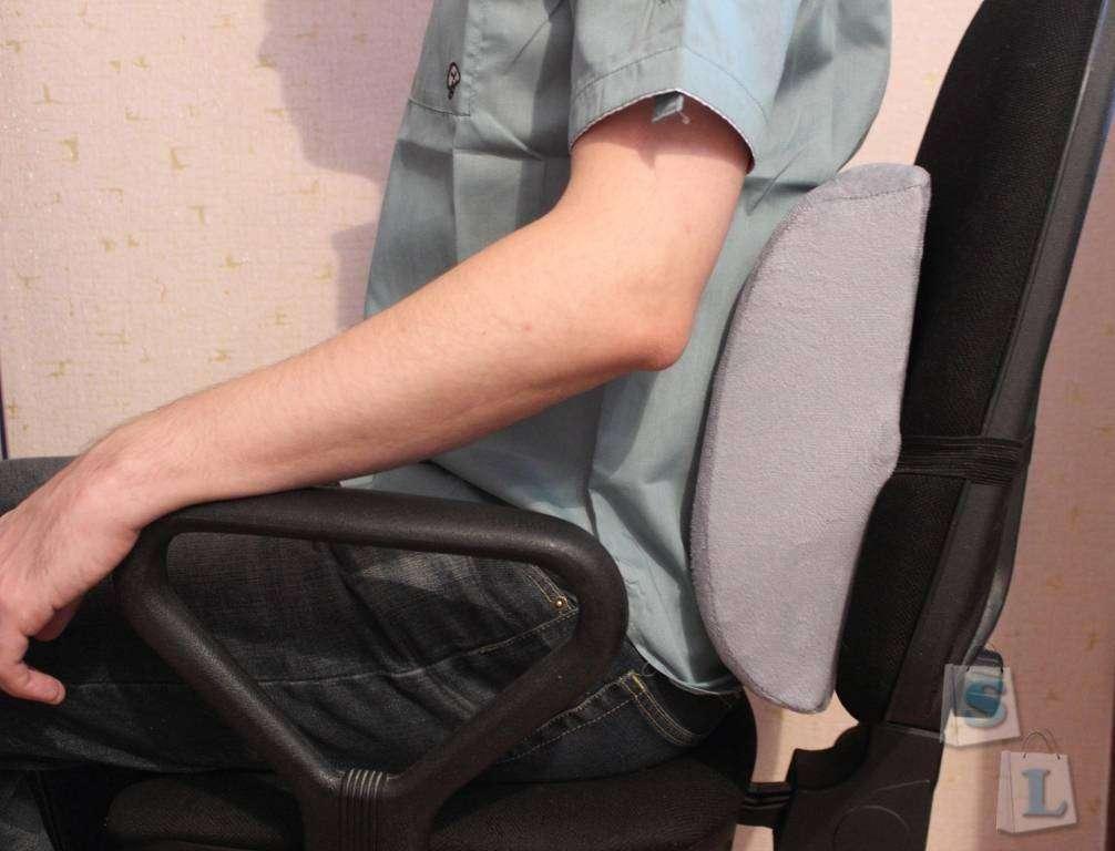 Banggood: Хочу поведать Вам о подушке на спинку кресла для поясницы с заявленным эффектом памяти