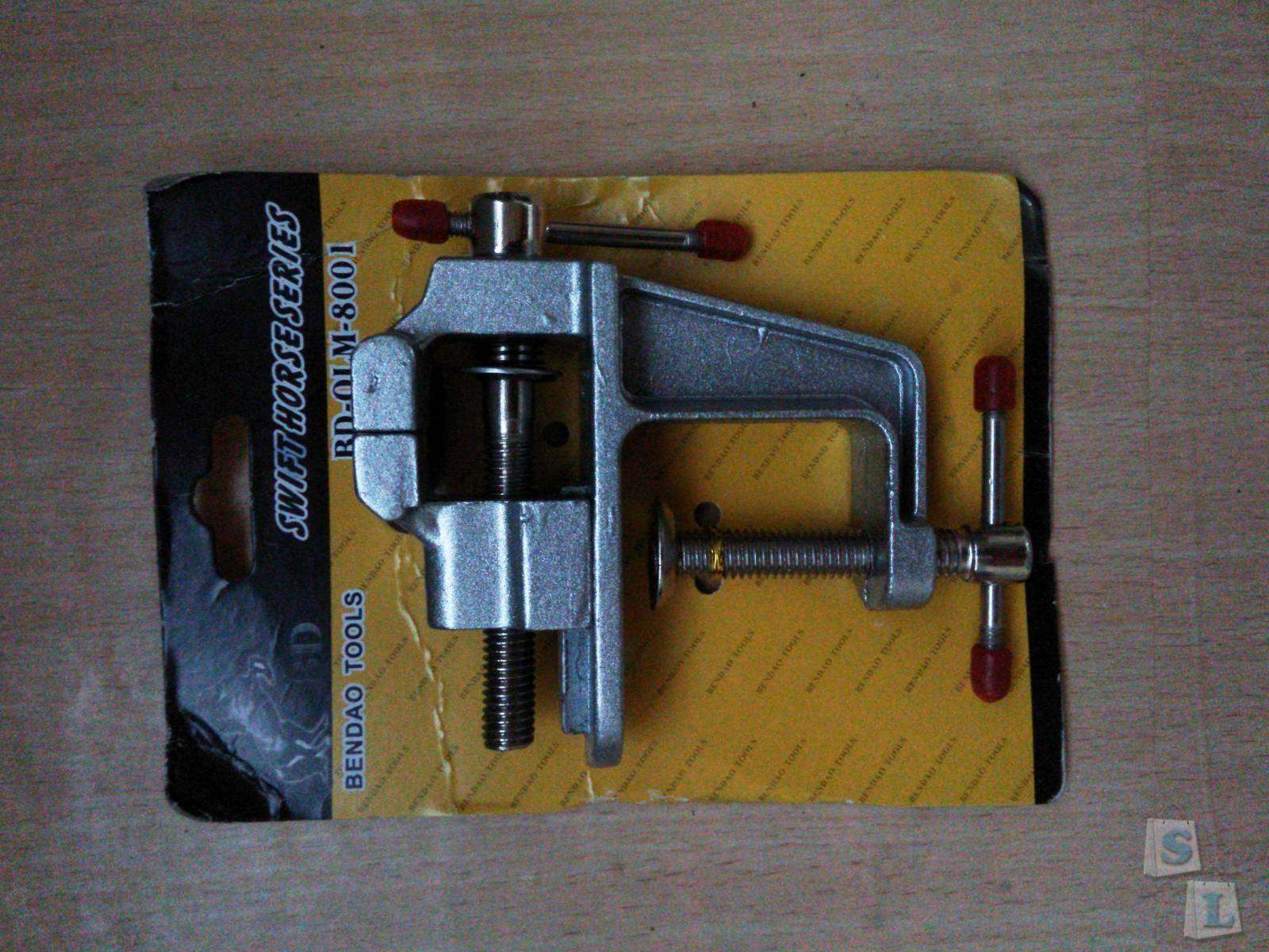 BuyinCoins: Aluminum Miniature Jewelers Hobby Clamp On Table Bench Vise Vice Tool