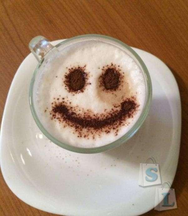 Aliexpress: Трафареты для узоров на кофе