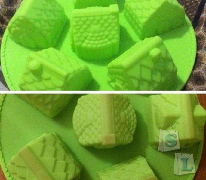 Aliexpress: Форма для кексов в виде домиков