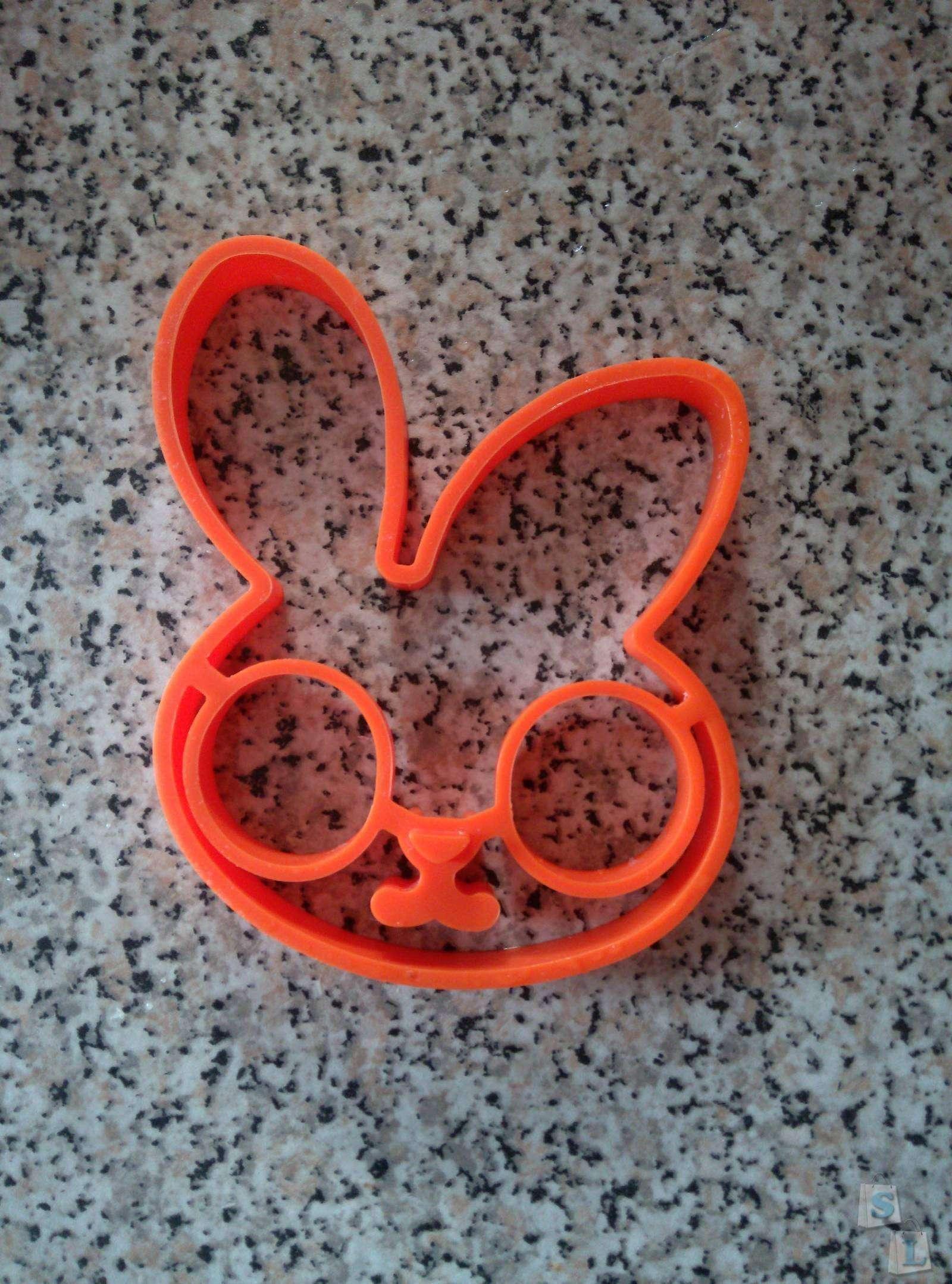 TinyDeal: Силиконовая форма заяц для яичницы