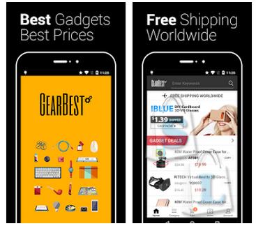 Мобильное приложение для покупок в магазине Gearbest, обзор установка скачать на Android