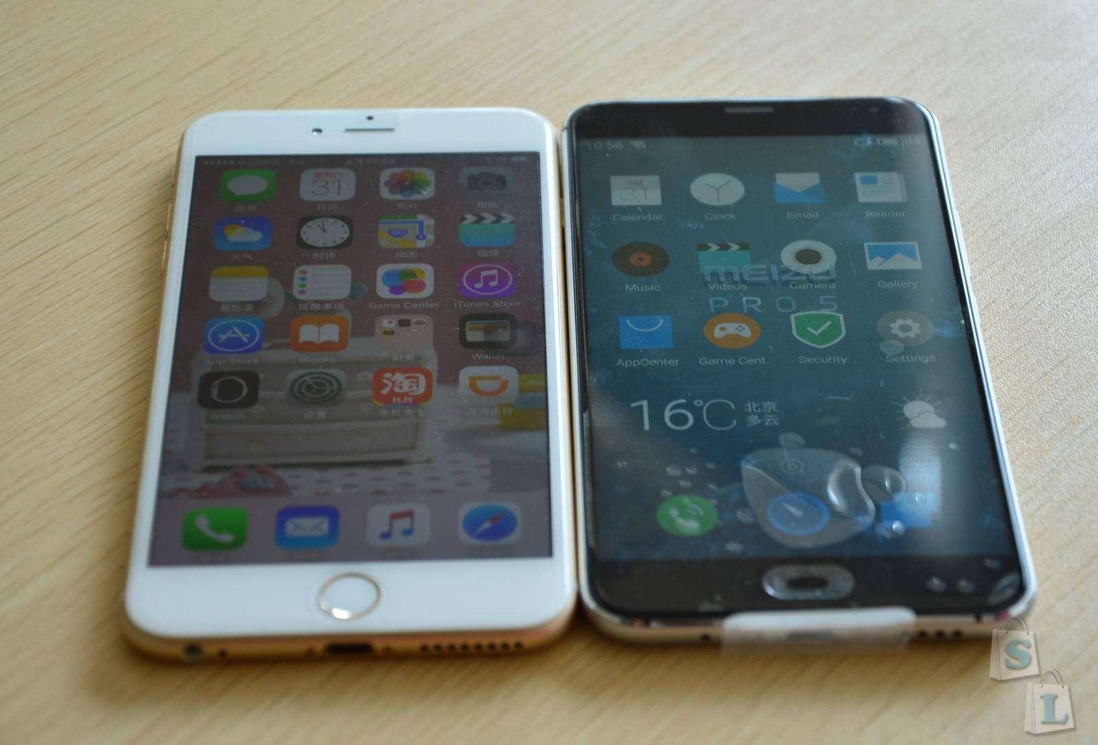 Shopper: Обзор Meizu PRO 5 флагманская модель в сравнении с iPhone 6 Plus