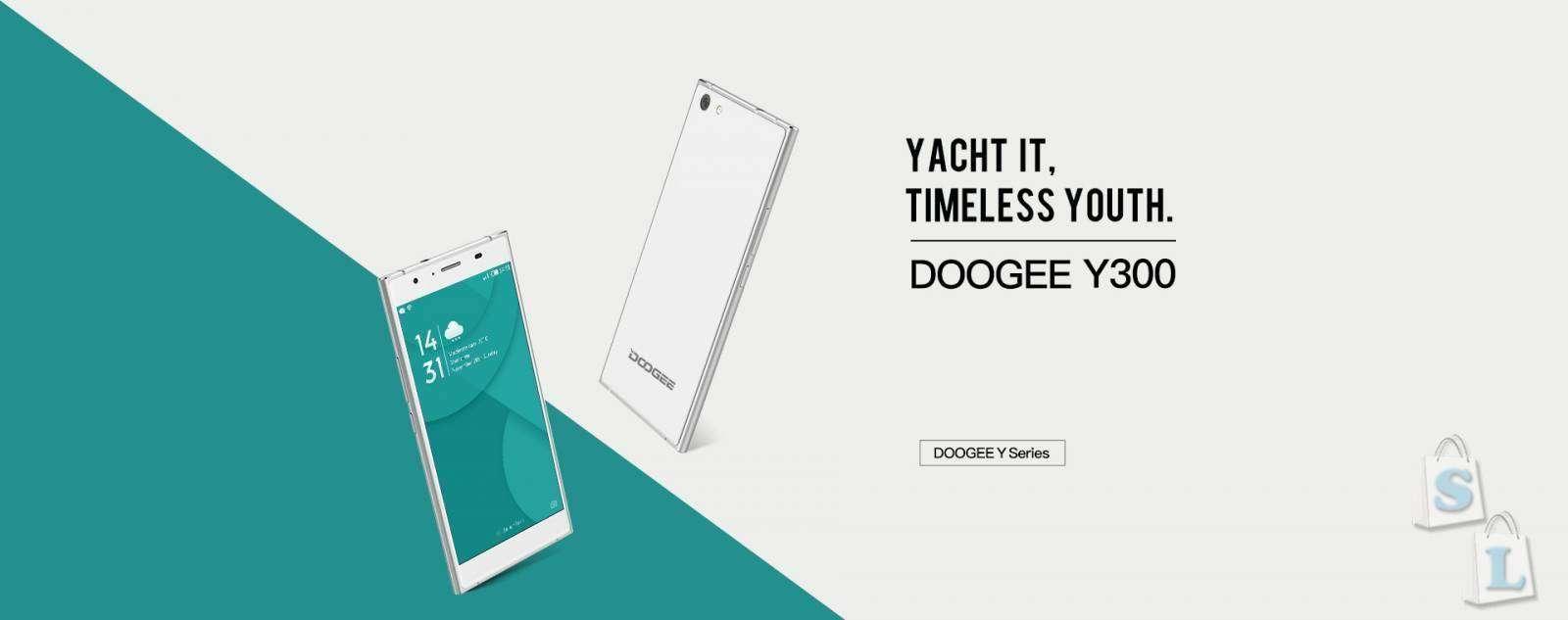 Shopper: Doogee  Y300 - информационный обзор бюджетника на 6 Андроиде и 2Гб оперативной памяти