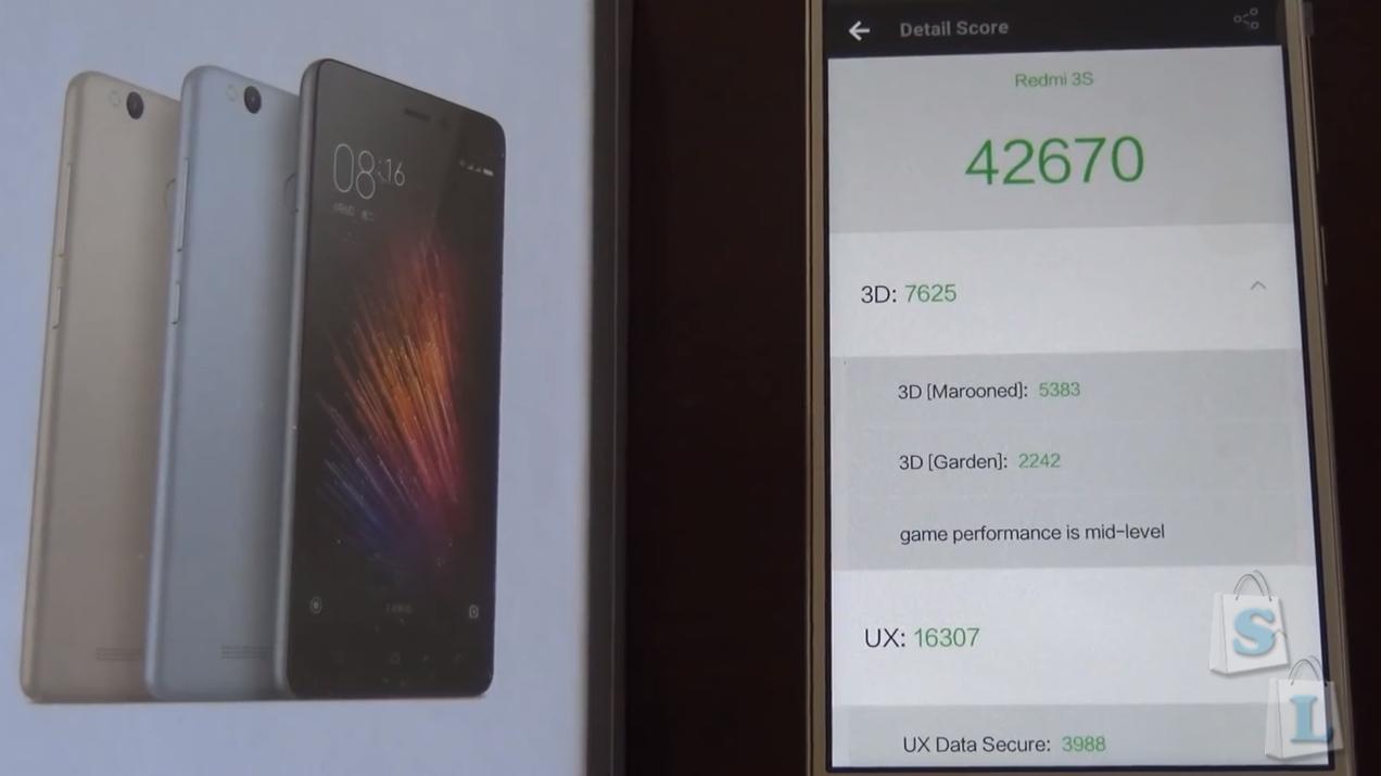 Shopper: Обзор Xiaomi Redmi 3S смартфон улучшенная версия Redmi 3