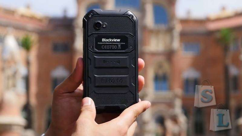 Shopper: Экстремальный смартфон Blackview BV6000S