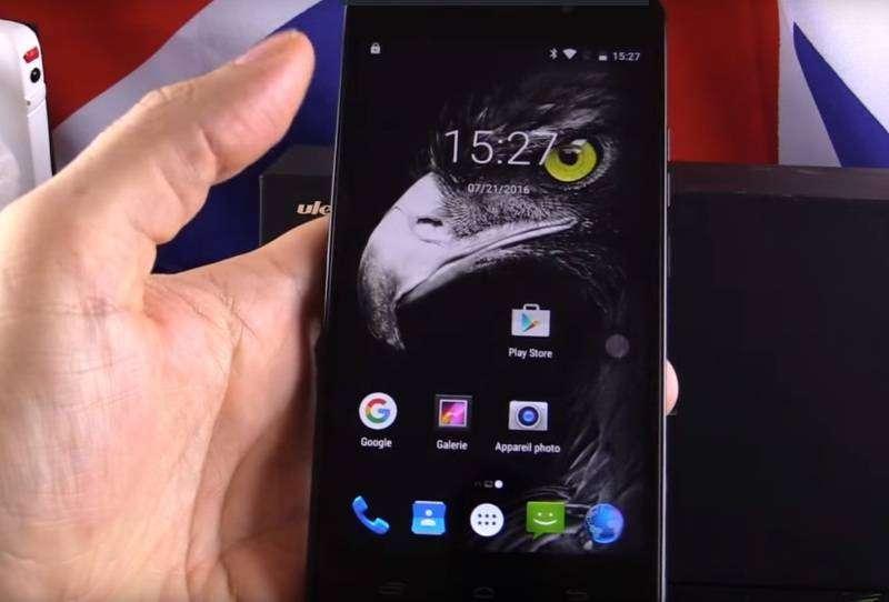 Shopper: Ulefone Metal- орел в доспехах