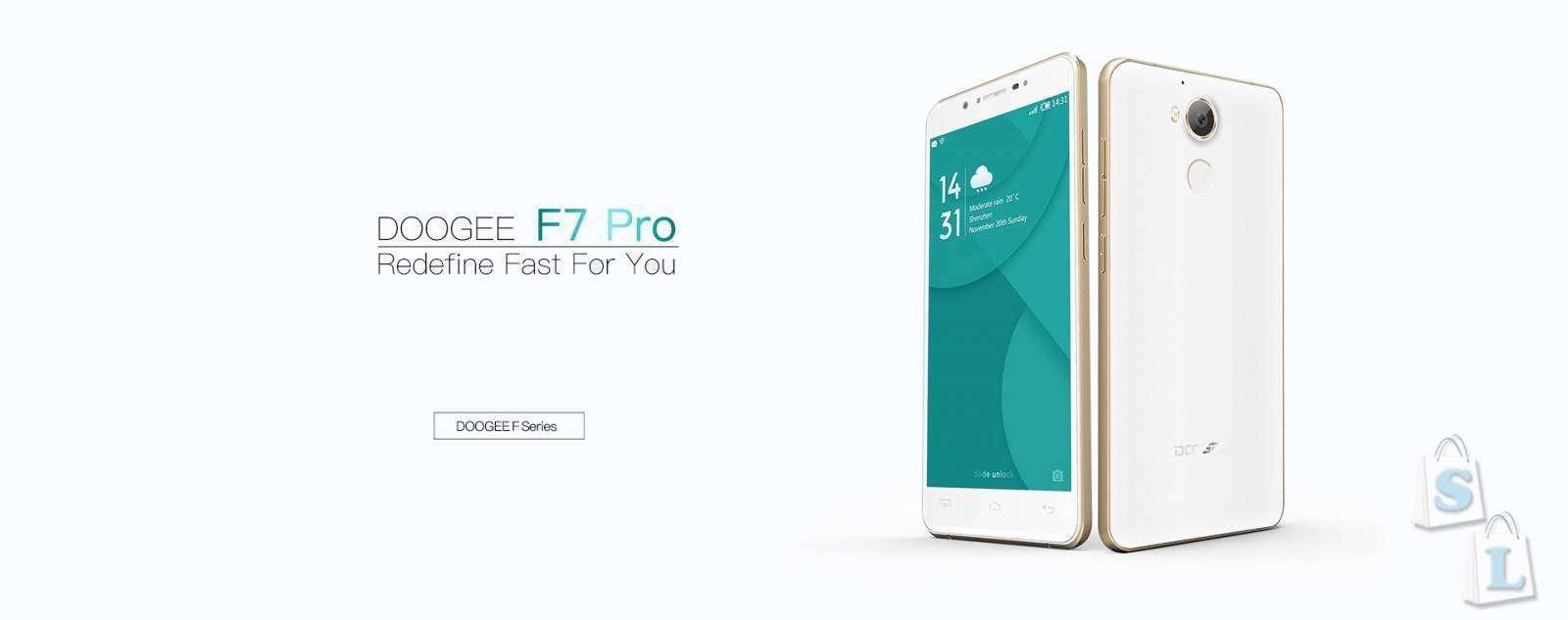 Shopper: Официальный запуск флагманского Doogee F7pro