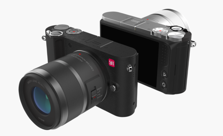 Shopper: Xiaomi представила первую беззеркальную камеру с сменной оптикой - XiaoYi M1