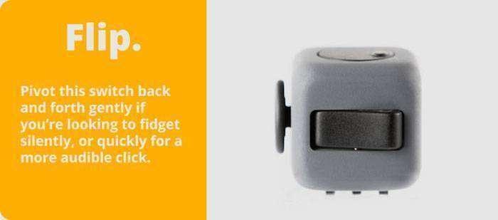 GearBest: Fidget Cube: кубик для снятия стресса, собравший более ,9 млн. на Kickstarter