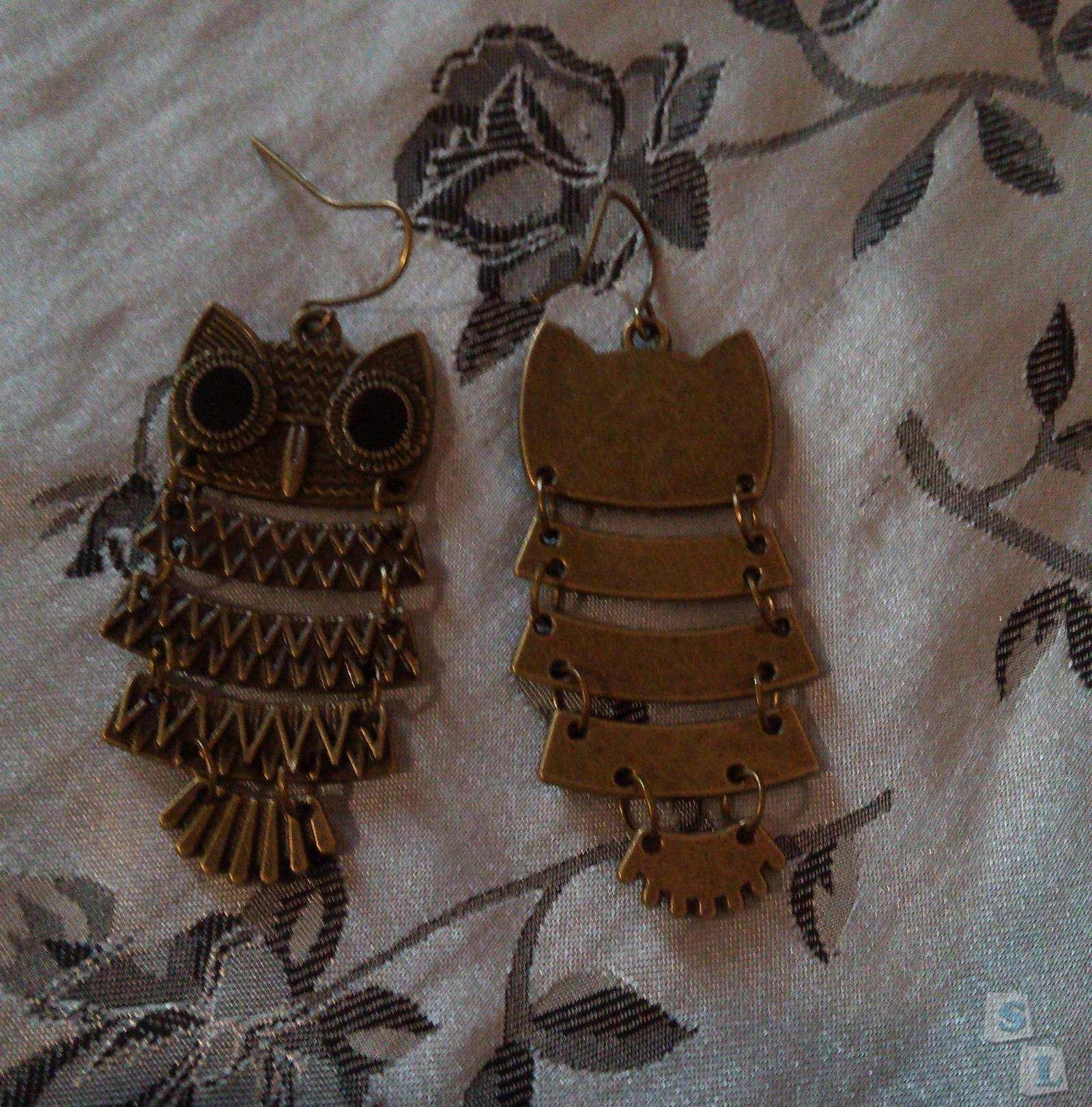 TinyDeal: Серьги совы