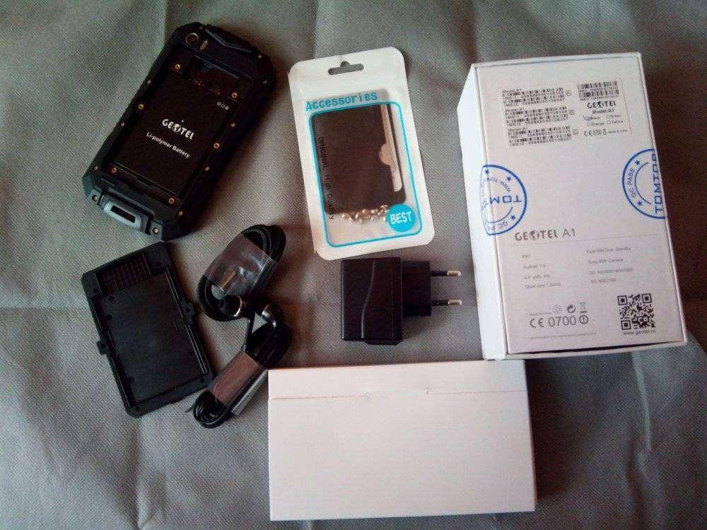 TomTop: Смартфон Geotel A1 Защищенный крепыш с батареей в неделю